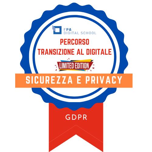 Sicurezza e privacy | GDPR
