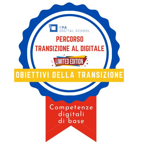 Competenze digitali di base | Conoscere gli obiettivi della trasformazione digitale