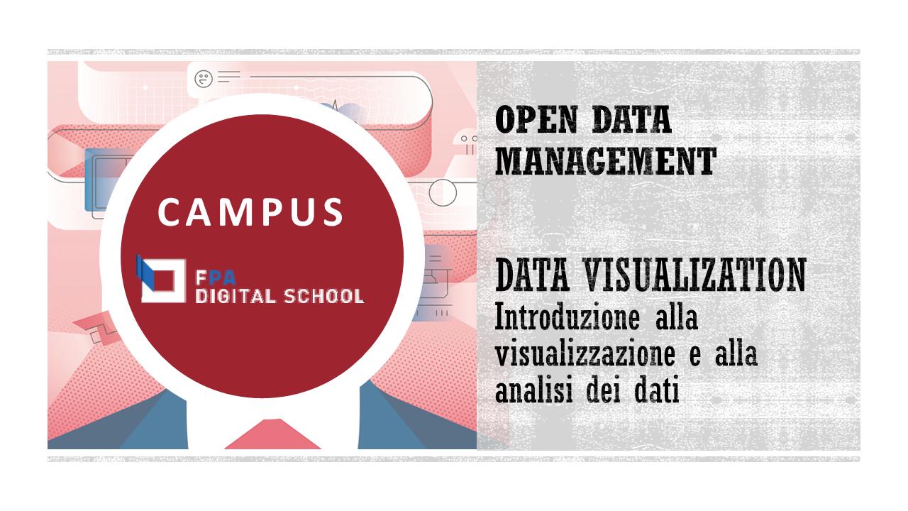 Modulo 1 | Introduzione alla visualizzazione e alla analisi dei dati