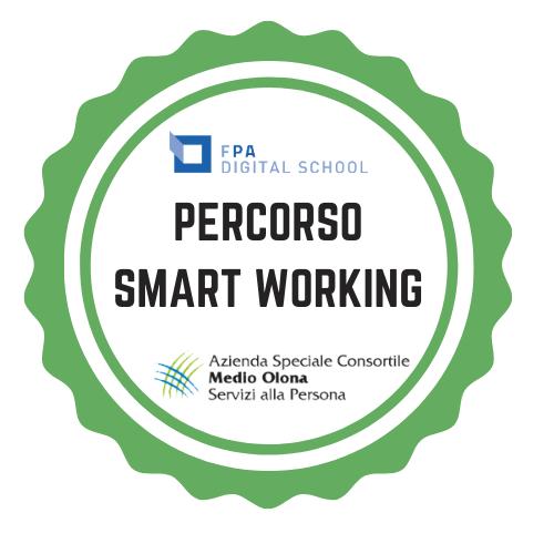 Open Badge Percorso Smart Working Azienda Medio Olona