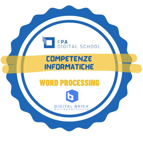 Word Processing | Elaborazione di testi