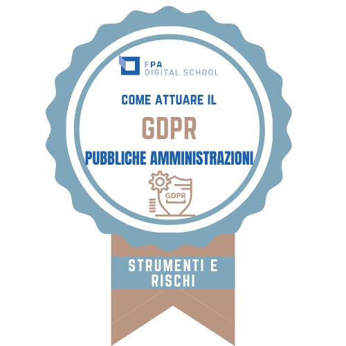 GDPR | Area 2 - GDPR: strumenti, rischi e sistema sanzionatorio