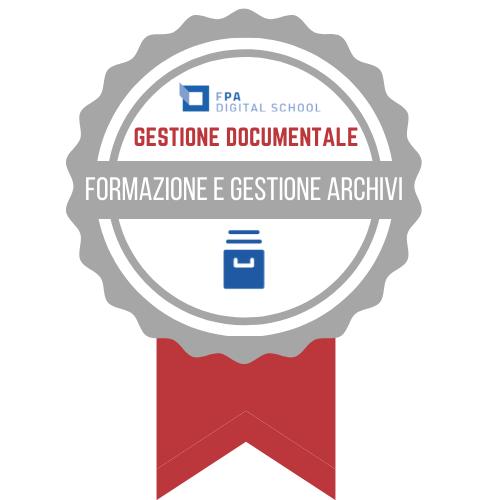 Gestione Documentale - Formazione e gestione dell'archivio