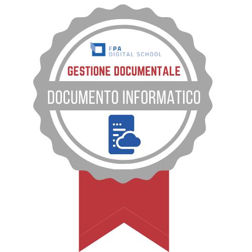 Gestione Documentale   Documento Informatico