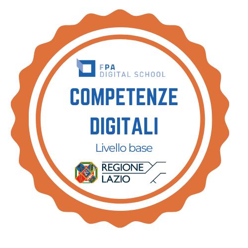 Percorso competenze digitali per i dipendenti pubblici della Regione Lazio